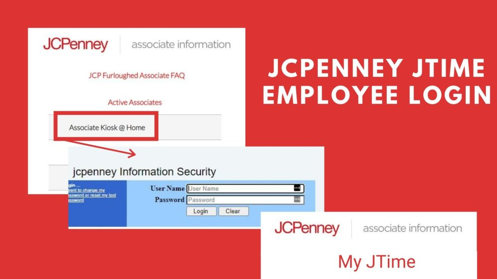 jcpenney jtime employee login