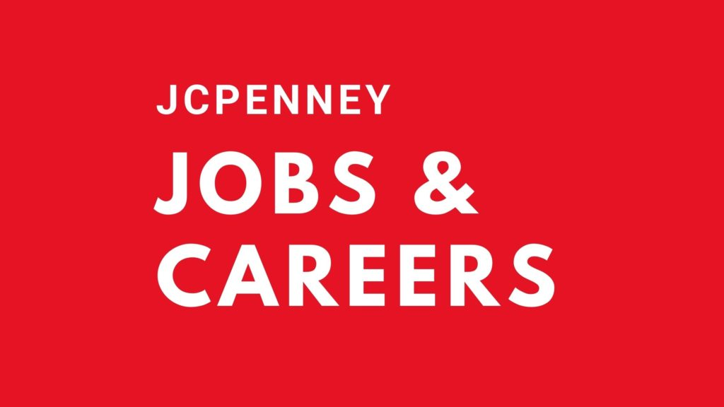 jcpenney jobs